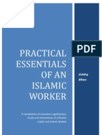 Essentials of an Islamic Worker