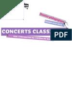 Concerts de l'Orchestre de l'Opéra de Massy