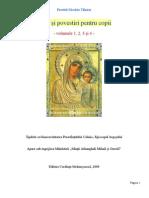Pilde si povestiri pentru copii vol 1, 2, 3 si 4 (Nicolae Tanase)