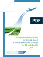 """L'aéroport du Grand-Ouest"" en-10 points-clés, par le Syndicat mixte d'études (2011)"
