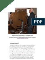 Bearden - Misc - Howard Johnson Constructing One of His Magnetic Motors