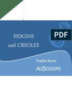 Chapter 3 - Pidgin, Creole