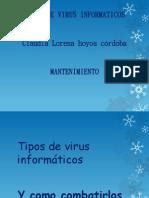 Tipos de virus informáticos lorena