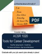 Tools in Career Development