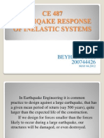 Earthquake Response of Inelastic Systems