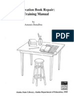 Conservation Book Repair-A Training Manual