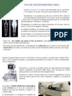 Densitometria y Radiologia Dental