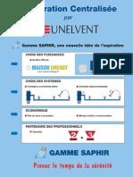 Brochure Centrale Aspiration Unelvent Saphir