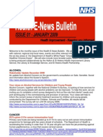 Health E-News January 09 Bulletin