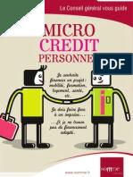 Le guide du Micro-crédit