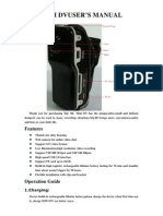 Mini-DV Digital-Recorder USER MANUAL