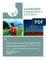 Online Tools for Climate Action