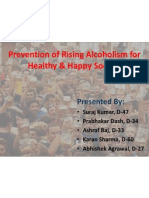 Prevention of Rising Alcoholism for Healthy & Happy Society(1)