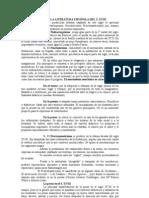 LA LITERATURA ESPAÑOLA DEL S