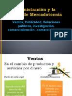 La Administración y la gestión de Mercadotecnia
