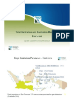 Total Sanitation and Sanitation Marketing (TSSM) East Java