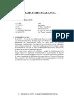 Programa Curricular Anual - IEP Nº 70618
