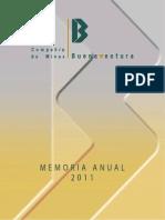 Memoria Anual Buenaventura 2011