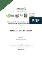 Ear User Manual Spanish