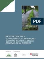 Metodologia de Inventario Del Patrimonio Inmaterial
