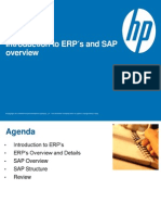Introduction to ERP´s and SAP 2