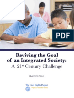 Reviving the Goal of an Integrated Society