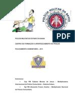 APOSTILA Policiamento Comunitario Curso Sgt 2011