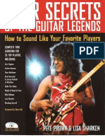Gear Secrets of the Guitar Legends - PDF