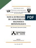 MANUAL de Laboratorio Dx Histopatologico
