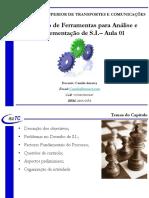 Aula 20 - Capitulo 06 - PDSI - Aula 01 - Utilização de Ferramentas de Sistemas de Informação