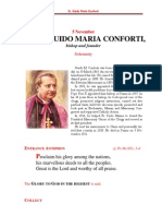 The Feast of St. Guido Maria Conforti