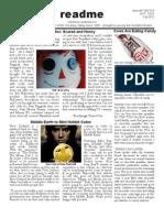 Readme - October 17, 2012