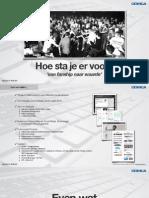 Presentatie - 'Hoe sta je er voor op het web?' (ADE University 2012)