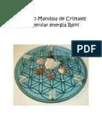 Manual Parrilla o Mandala de Cristales Reiki