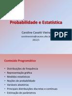 Probabilidade e EstatísticaIII