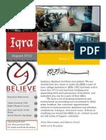 Iqra Issue 1 Volume 3 Print This