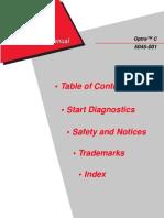 5045-001 Optra C Service Manual