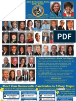 2012 Mecklenburg County Democratic Party Voter Guide