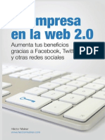 Tu Empresa en La Web 2.0. Aumenta tus beneficios gracias a Facebook, Twitter y otras redes sociales - Héctor Mainar (2012)