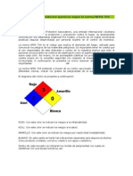 Clasificacion Norma NFPA 704