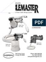 Cablemaster CM - Manual