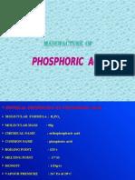 flow charts for Phosphoric Acid
