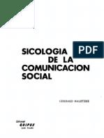 Sicologia de La Comunicacion Social Maletzke 2