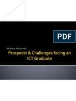 Prospects & Challenges Facing an ICT Graduate