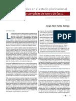 Gestion pública en el Estado Plurinacional, un modelo complejo de iure y de facto