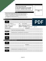 International Application Form 2012