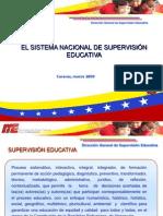 La Supervisi n Educativa