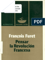 Francois Furet-Pensar La Revolucion Francesa-Ediciones Petrel(2000)