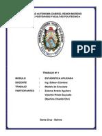 Modelo Encuesta - Modulo Estadistica Aplicada