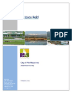 Ipsos Reid Report - City of Pitt Meadows 2012 Citizen Survey